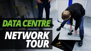 A DAY in the LIFE of the DATA CENTRE   NETWORK TOUR with ASH & JAMES!