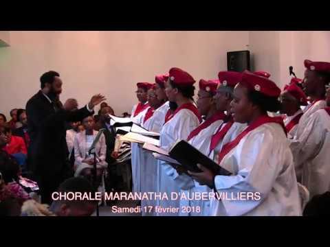 Chorale maranatha - 17 février 2018