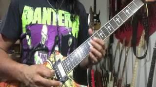 Painkiller Eb guitar cover / Judas Priest