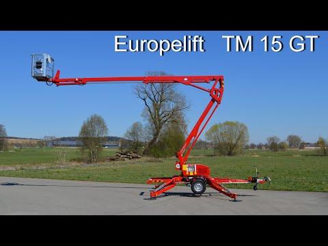 Europelift TM15GT - Produktvideo