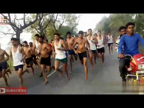 Indian Army Physical Practice 1600 m Race 1st 4:28 part.2