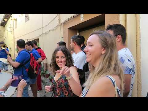 SACADA DE LA VIRGEN LUESIA FIESTAS 2019