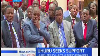 Uhuru seeks support: Meeting to consolidate support