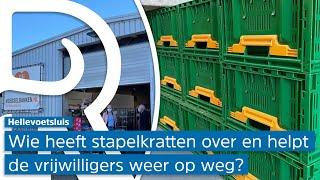 Ruim driehonderd stapelkratten gestolen bij Voedselbank Hellevoetsluis