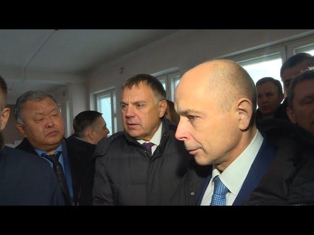 Спикер областного парламента посетил Ангарск