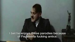 Hitler finds out Downfall director Oliver Hirschbiegel enjoys the Hitler parodies