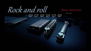 BASE DE ROCK AND ROLL EN G, DE LOS AÑOS 50