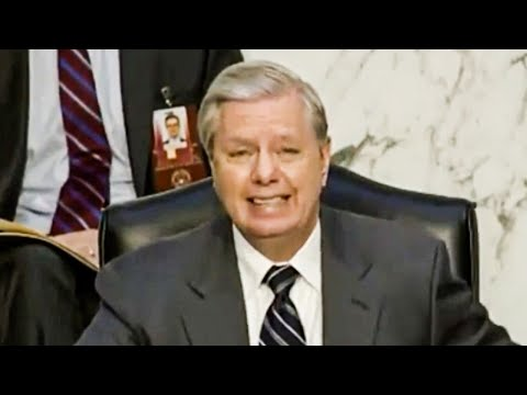 Lindsey Graham's Face When He Realizes He's a Disgusting Hypocrite