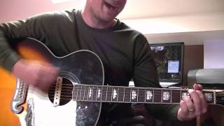 four letter word guitar lesson by beady eye