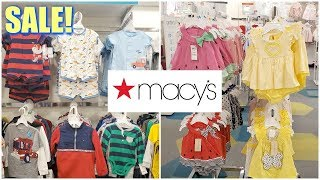 Macys Baby SHOPPING BABY CLOTHING * SHOP WITH ME 2020