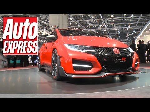 Honda Civic Type R at the Geneva Motor Show 2014