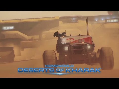 Watch The First Two Missions Of Homeworld: Deserts Of Kharak