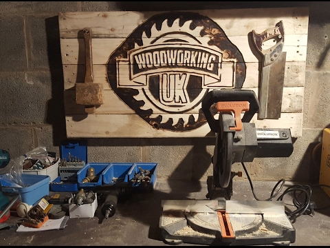 How to make and carve a sign with a Router - Woodworking UK