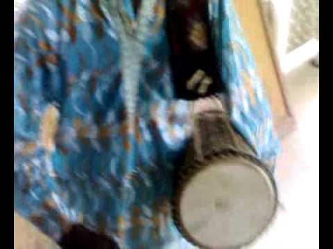 A Yoruba Drummer at Ibadan University