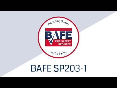 BAFE Fire Detection and Alarm System Provider Scheme (SP203-1) Video