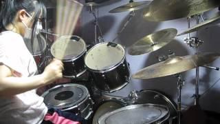 the GazettE Cassis Drum