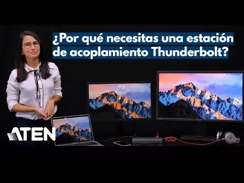 ¿Por qué necesitas una estación de acoplamiento Thunderbolt™