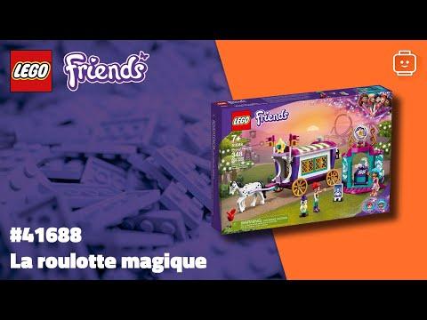 Vidéo LEGO Friends 41688 : La roulotte magique