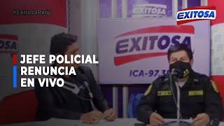 CRISIS EN EL INTERIOR DE LA POLICÍA DESTITUCIÓN DE SUS ALTOS MANDO