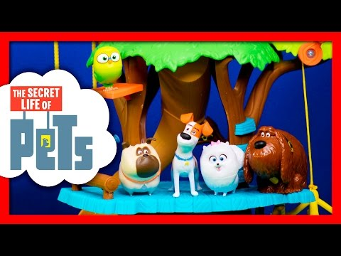 THE SECRET LIFE OF PETS  Unboxing Max The Secret Life of Pets Movie TheEngineeringFamilly Toys Video