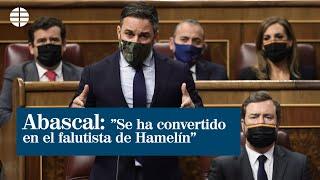Abascal: ?Se han convertido en el flautista de Hamelín que convoca a la inmigración ilegal?