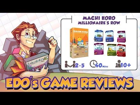 Edo's Machi Koro: Millionaire's Row Card Game Review