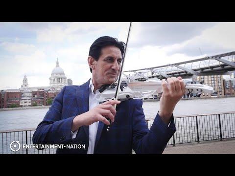 Satin Violin - Incredible Live Violinist