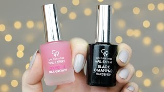 Black Diamond Hardener - Odżywka wzmacniająca paznokcie - Golden Rose