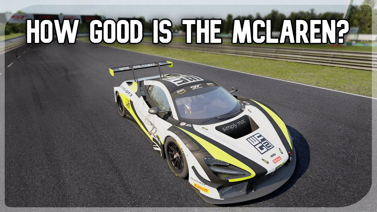 Sacame: McLaren 720s GT3 on AC Competizione review