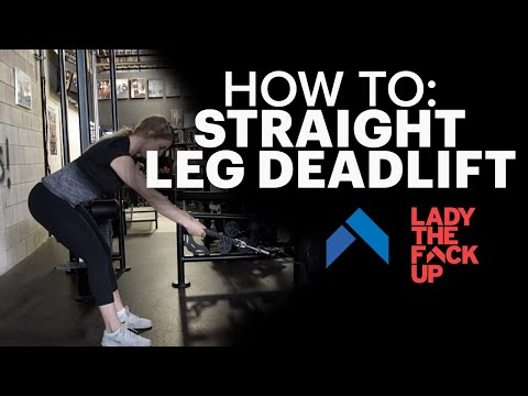 Straight Leg Cable Deadlift: How to