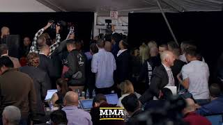 At UFC 246 post-fight press conference, the top UFC 246 fighters, including Conor McGregor, are expected to attend Saturday evening.  Subscribe: http://goo.gl/dYpsgH  Check out our full video catalog: http://goo.gl/u8VvLi Visit our playlists: http://goo.gl/eFhsvM  Like MMAF on Facebook: http://goo.gl/uhdg7Z Follow on Twitter: http://goo.gl/nOATUI Read More: http://www.mmafighting.com Subscribe to the podcast: http://applepodcasts.com/mmahour  MMA Fighting is your home for exclusive interviews, live shows, and more for one of the world's fastest-growing sports. Get latest news and more here: http://www.mmafighting.com