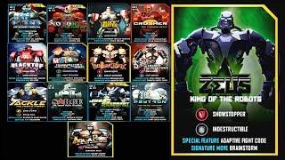 Real Steel WRB ALL UNDERWORLD II VS ZEUS KING OF THE ROBOTS Series Fights (Живая Сталь)