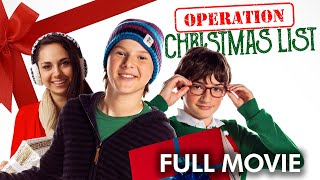 Operation Christmas List | Full Movie | Colton Gobbo | Kyle Peacock | Jacob Soley - Download this Video in MP3, M4A, WEBM, MP4, 3GP