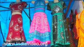 Glittering handloom textiles from Uttar Pradesh