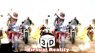 3D RAGING PLATEAUS - ROAD RASH STYLE   3D SBS VR Virtual Reality Vídeo Google Cardboard VR Box