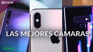 ENFRENTAMOS las mejores cámaras del mercado disponibles en México: Note 9, iPhone XS y P20 Pro