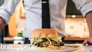 How to Make a Smash Burger at Home   Bon Appétit
