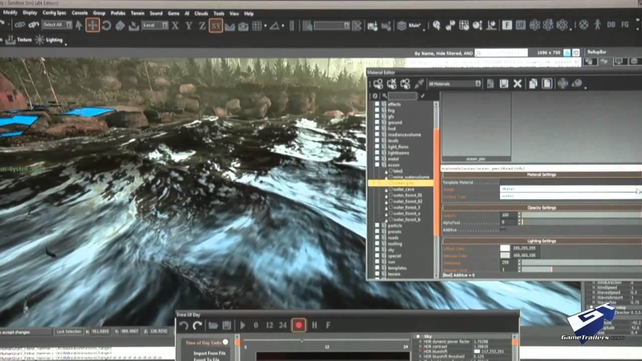 CryEngine 3 - E3 2012: Water Walkthrough (Cam)