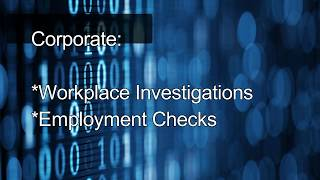 iSpy Investigations Services Overview
