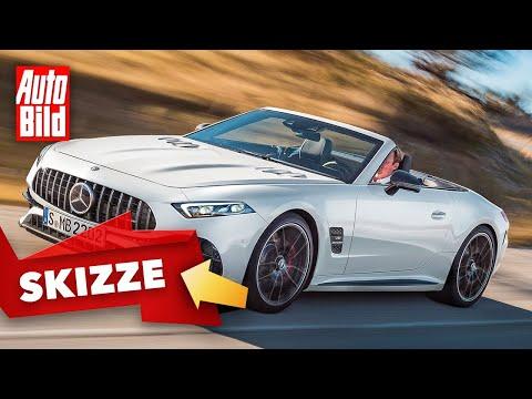 Mercedes-AMG SL (2021) | Neuer SL kommt ausschließlich als AMG | Skizze