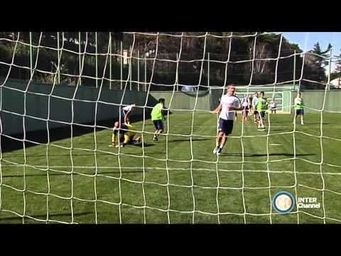 ALLENAMENTO INTER REAL AUDIO 31 03 15