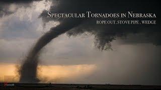 Spectacular Tornadoes in Nebraska