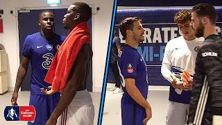 TUNNEL CAM   Zouma Consoles Pogba & Willian Can't Find Fred   Manchester United 1-3 Chelsea