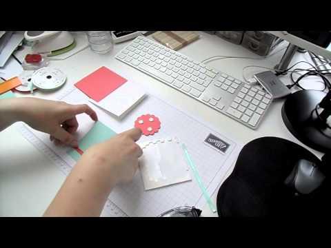 Kreativer Montag 17 - schnelle Dankeskarte