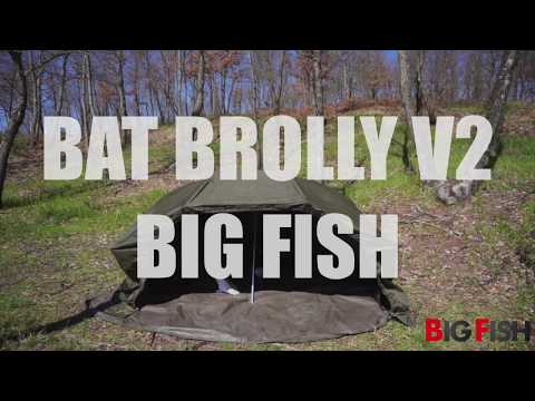 OMBRELLONE BAT BROLLY V2 di BIG FISH