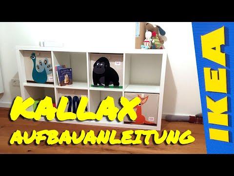 IKEA KALLAX Aufbau // Aufbauanleitung