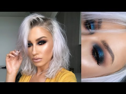 INTENSE BLUE SMOKEY EYE | lolaliner