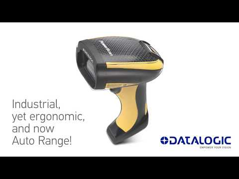 PowerScan 95X1 AR | Industrial, yet ergonomic, and now Auto Range!