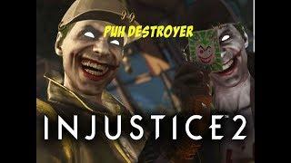 "Say Goodbye to dah Puh! -Injustice 2 ""Joker"" Gameplay"