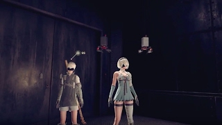 Nier Automata Official  DLC Gameplay Trailer